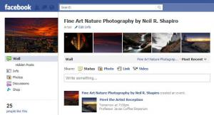 Fine Art By Nature Facebook Page